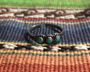 """""""Indian"""" ring from my grandfather"""